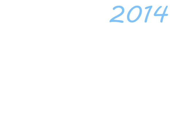 给我一张图片上面写着2014