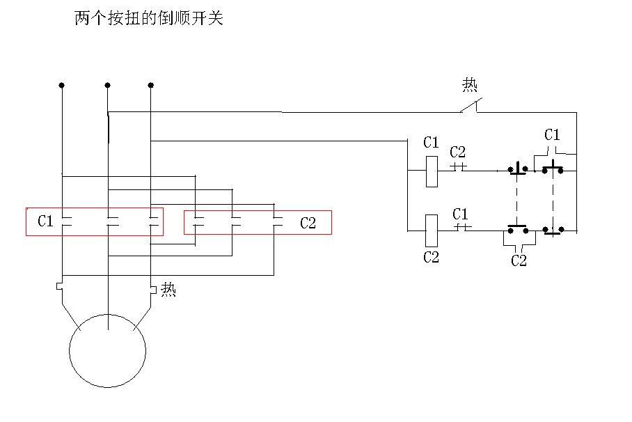 谁能帮我找下星三角启动电路和电机正反转控制电路的图片和详细说明?