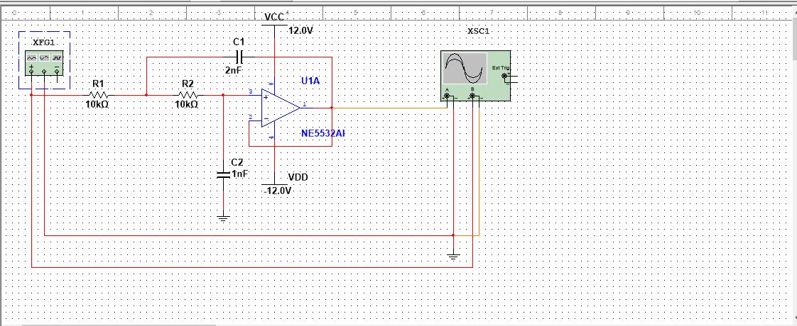 ne5532的低通滤波电路