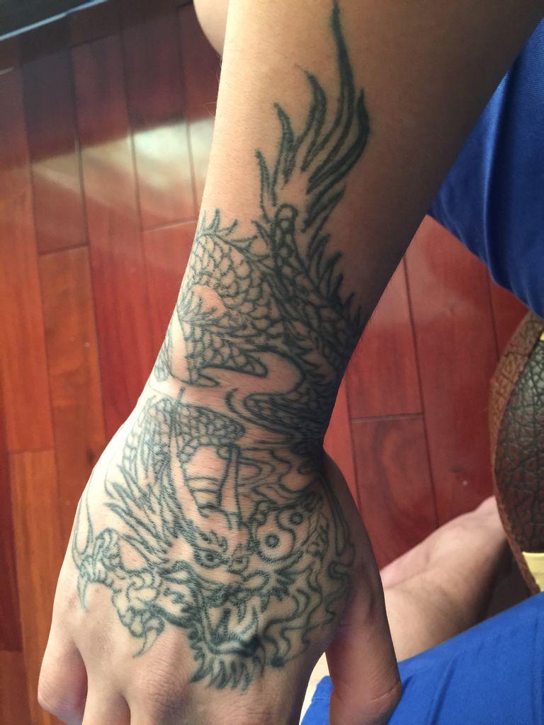 洗纹身要多少钱 下面这个纹身图片