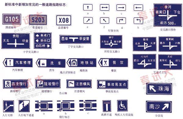 道路交通标志和标线的介绍图片