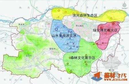 郑州市森林公园的交通信息图片