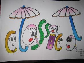 创意英文单词图片4年级图片