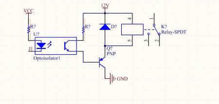 单片机驱动继电器直接用三极管还是先加光耦再接图片