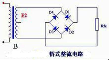 全波整流电路图及其工作原理