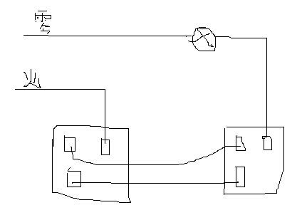双控开关怎么接,双控开关接线图示例