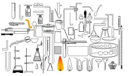 化学实验室仪器图片