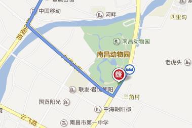 南昌新动物园怎么坐公交车去