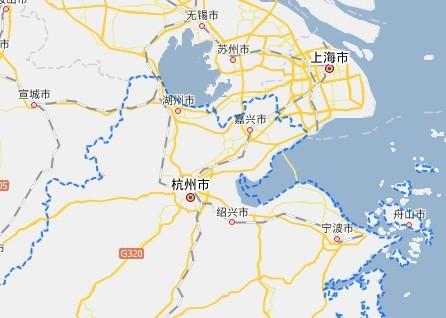 湖州在浙江的最北边,在太湖的南岸图片