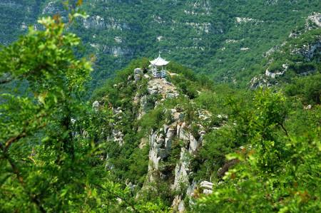 抱犊寨风景区的地理环境