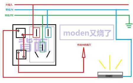 求2开五孔插座接线图(附插座图片)