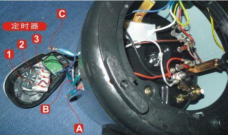 机械电压力锅接线图