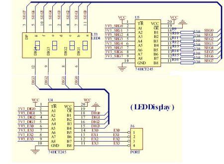 共阳极数码管驱动电路,在线等