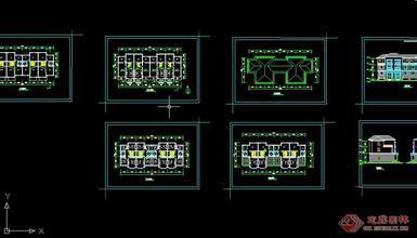 房屋建筑学课程设计单元住宅设计图片