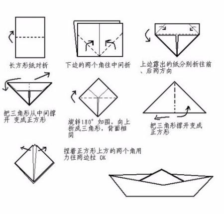 怎么折纸船