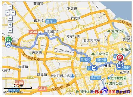 2,乘坐地铁11号线,经过19站, 到达江苏路站 3,步行约260米,换乘地铁2