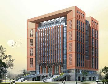 河南科技学院新图书馆的建筑结构?