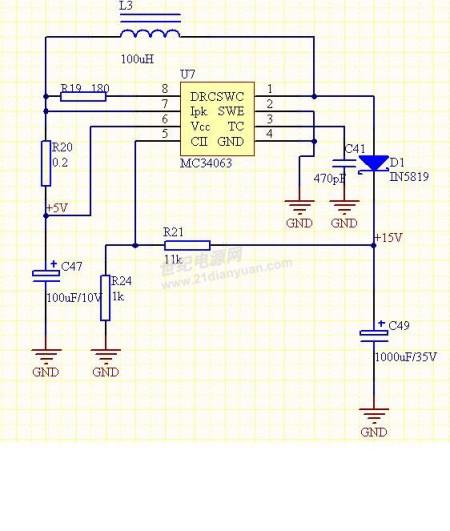 求输入小于12v输出大于12v逆变器电路图