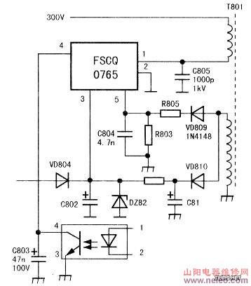 急求海尔21fk1电视机电路图