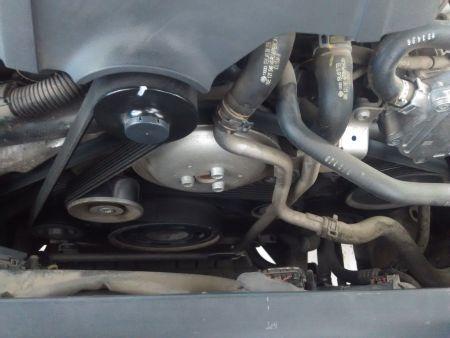奥迪q73.0t发动机皮带怎么绕图片