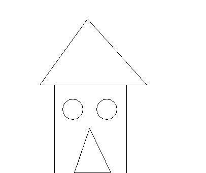 2个圆和2个三角形和2条平行线谢谢图形啊?急用下载我我组成图纸cad配筋告诉图片