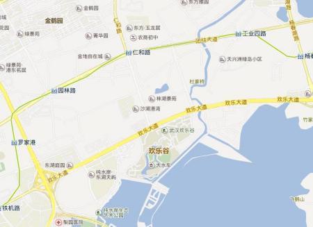武汉欢乐谷很那个地铁站近图片