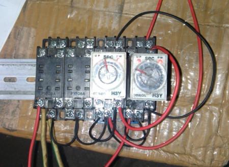 气缸电磁阀控制电路图片