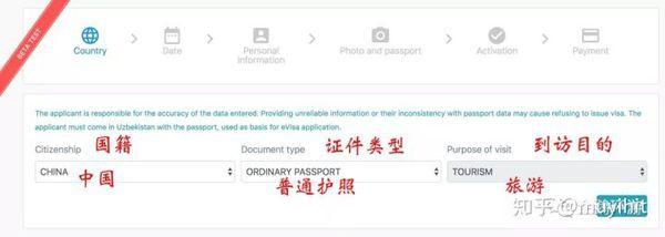 乌兹别克斯坦签签证怎么办理(图5)