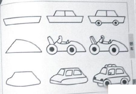 汽车怎么画简单画图片