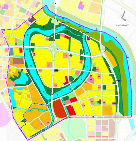 土地利用总体规划图上的颜色都是什么意思?