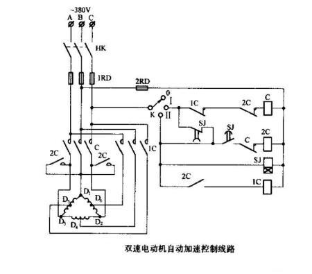 yd100l2-6/4双速异步三相电机绕组平面接线图.急需
