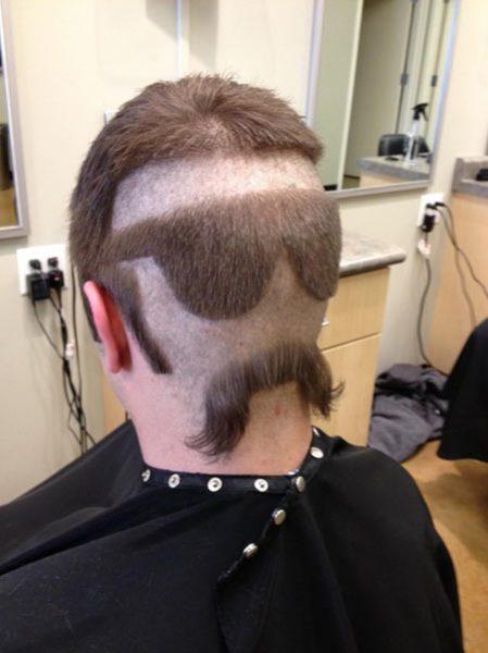 我想剪个发型可每次去后脑勺头发都直接接整个头型后面直剃短我想过把图片