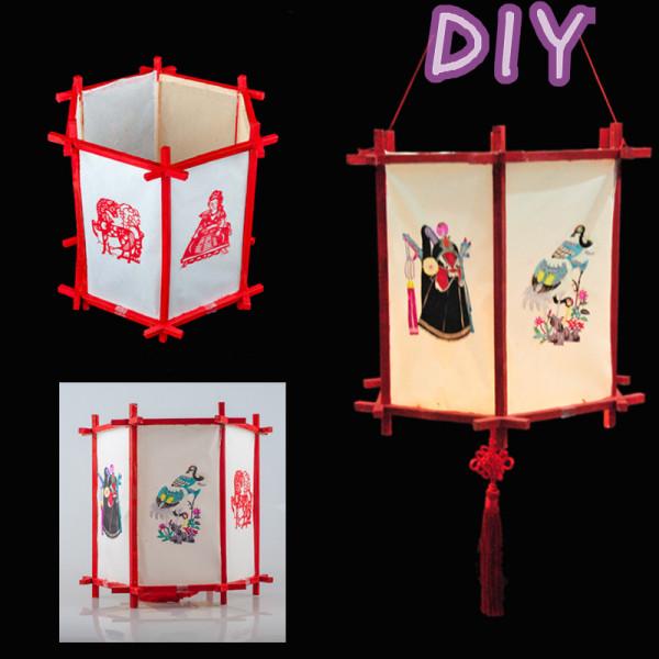 手工制作花灯方法图解 手工灯笼
