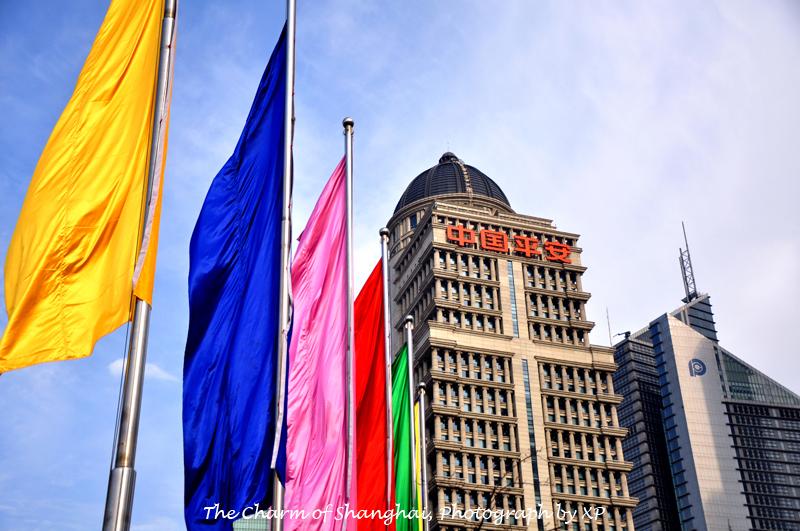 中国平安保险公司的大楼,气派威武.图片