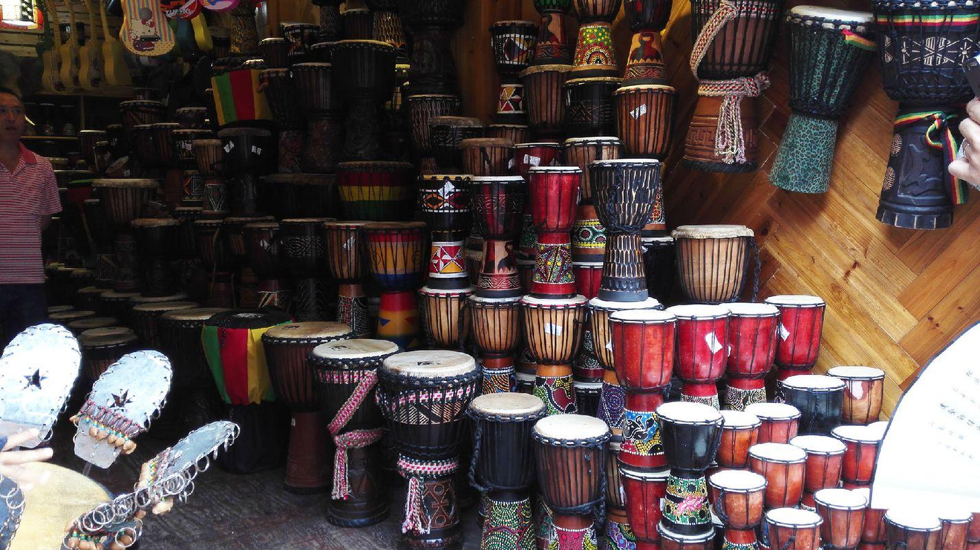 非洲鼓图片