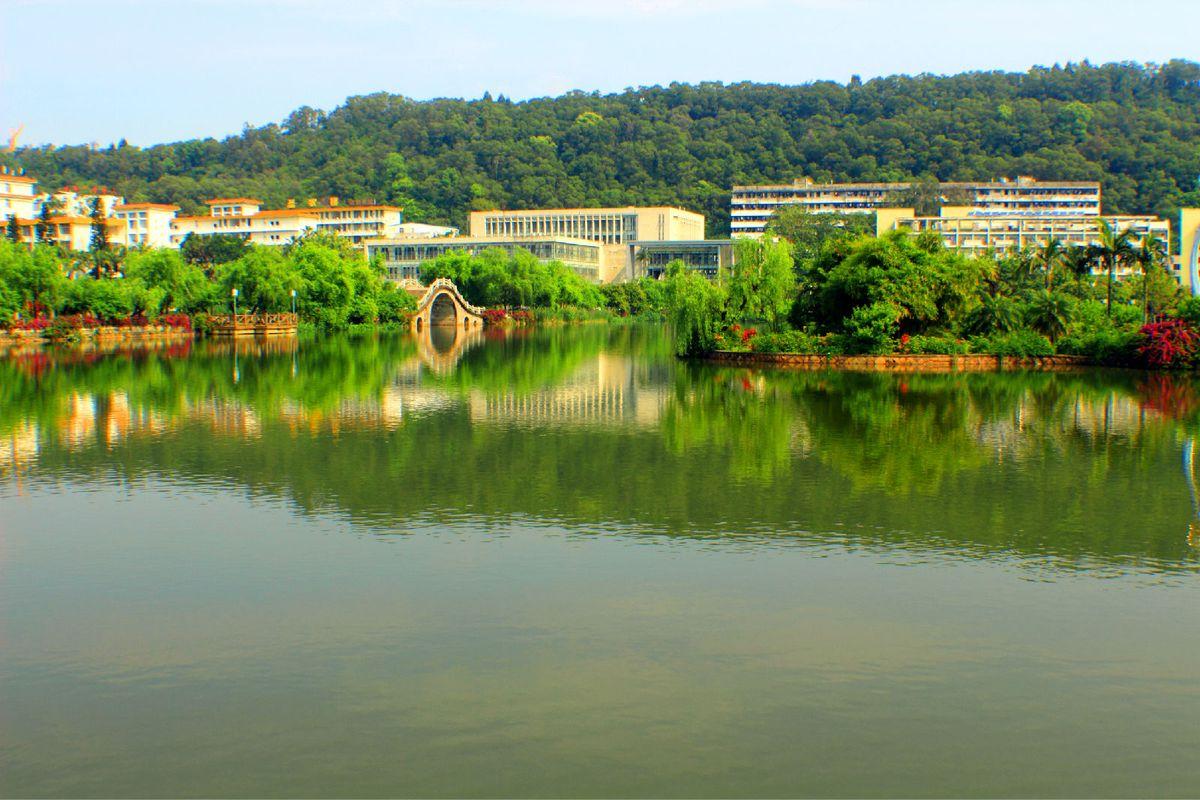 花园式大学----福建农林大学