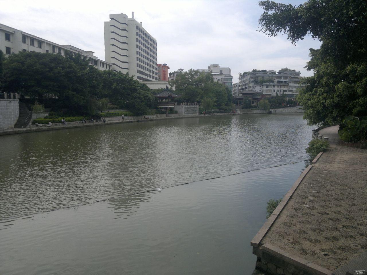 桂林游记  2012年9月周末桂林阳朔自助3天游    中山路是桂林一个图片
