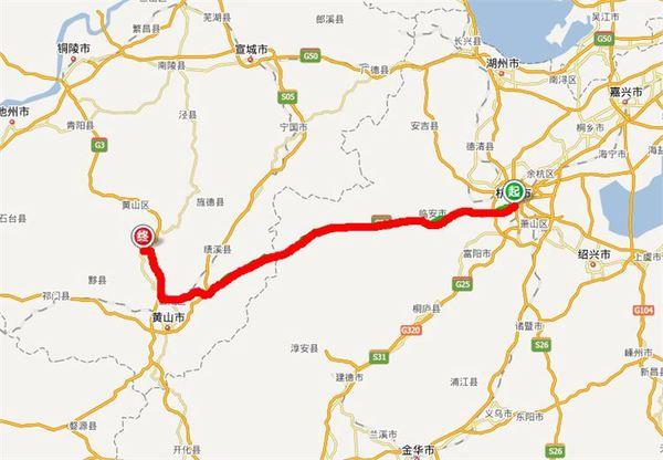 铁路 黄山风景区手绘导游图皖赣铁路线贯通黄山市全境,有多个车次