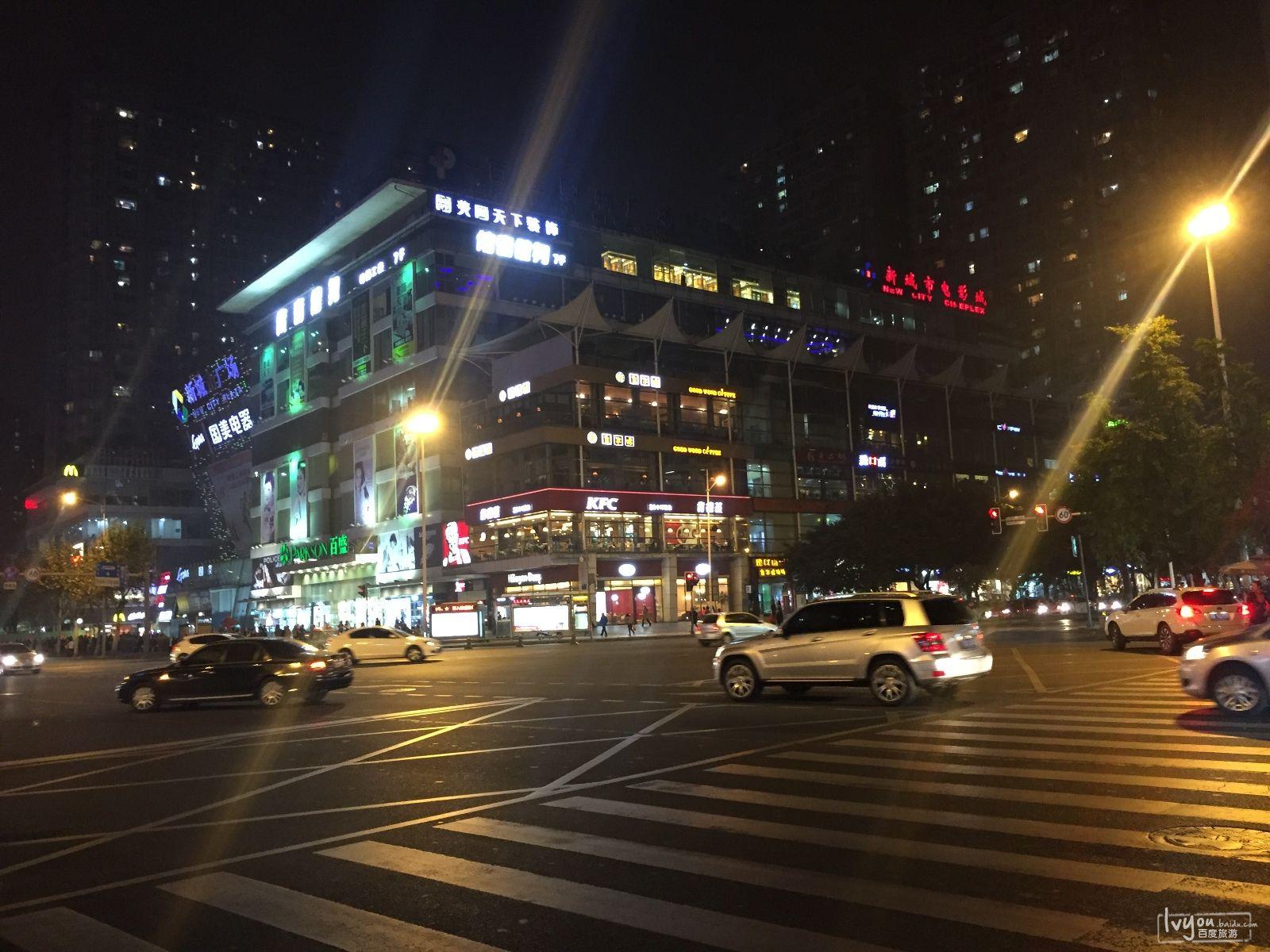 酒店在青羊区宁夏街,临近新城市广场图片