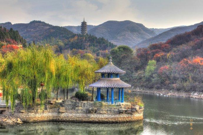 好山东�y����d_好客山东,天下泉城--红叶谷风景区