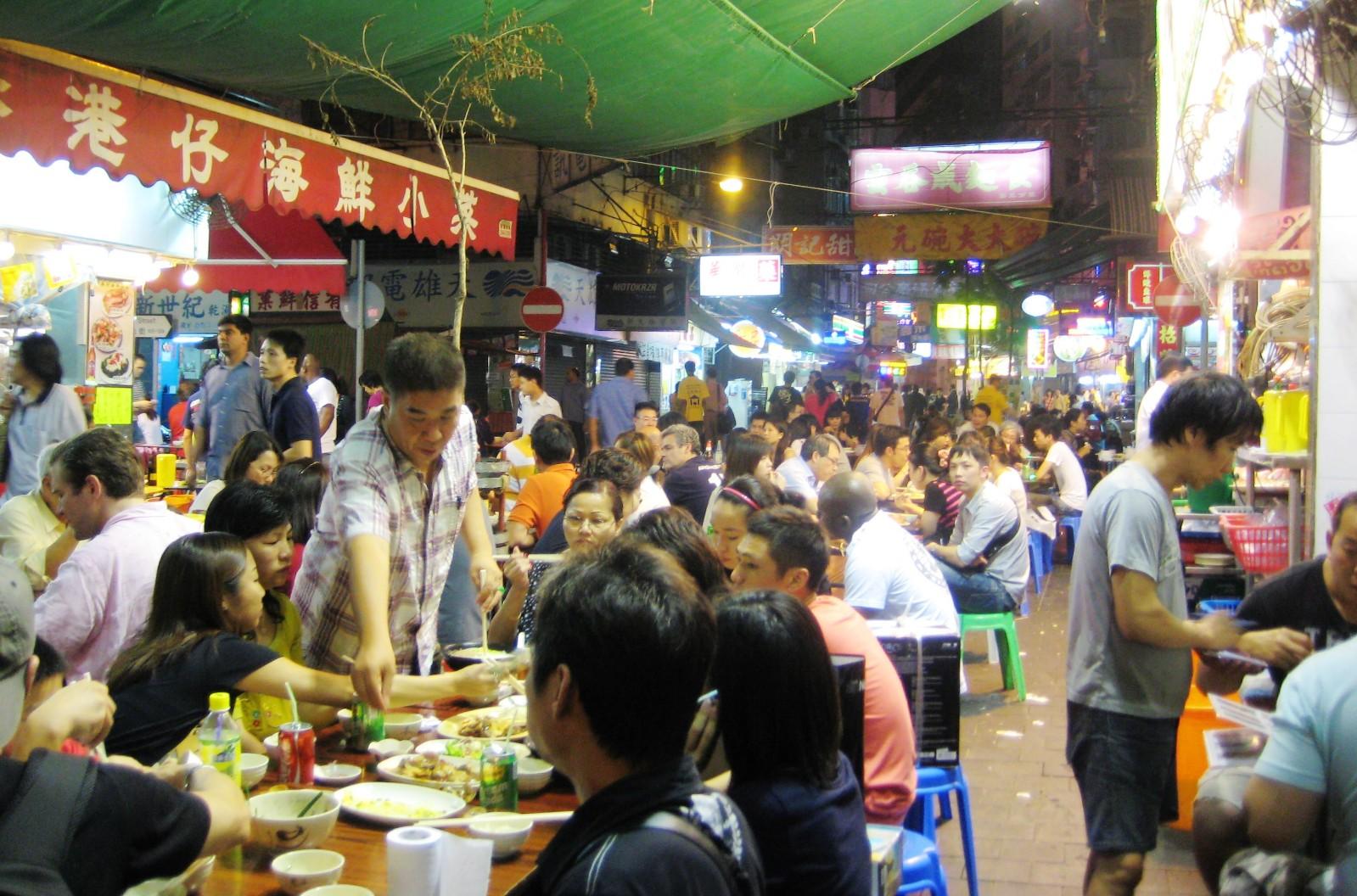 2.庙街夜市,香港离岛我这次并没有去,图片来源于网络,侵删.图片