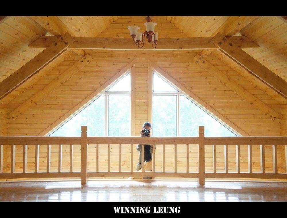 木屋的内部,很唯美图片