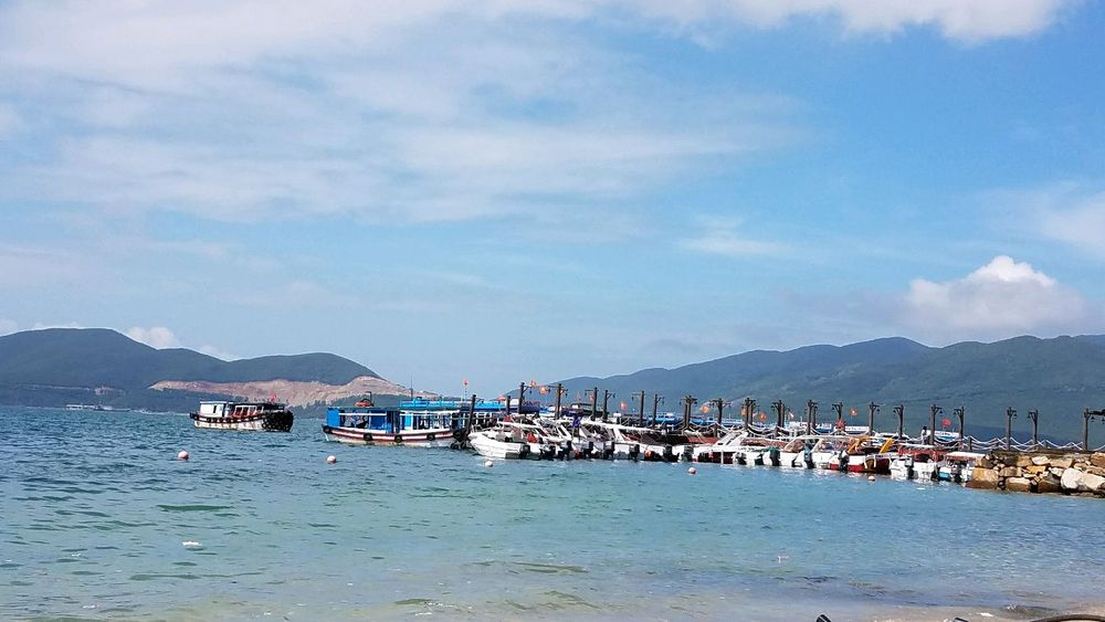 越南芽庄黑岛,竹岛风景