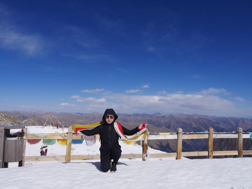四川阿坝黑水县达古冰川_旅行画册旅行图片_百度旅游