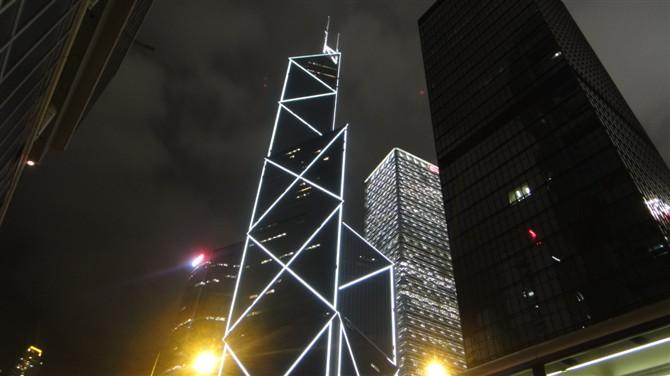 香港地标--中银大厦图片