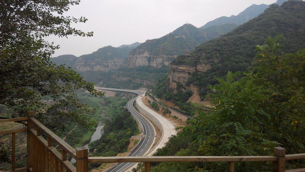 15年7月河南安阳林州市红旗渠青年洞
