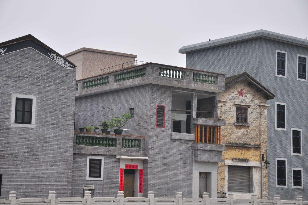 番禺古村,长隆动物园