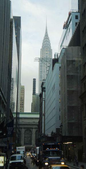 克莱斯勒大厦图片