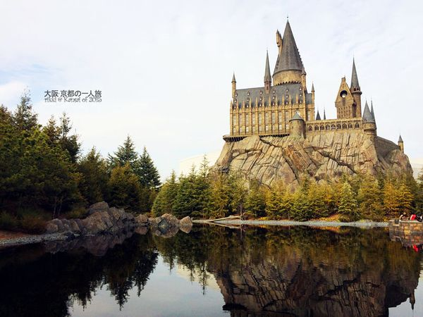 哈利波特的城堡图片