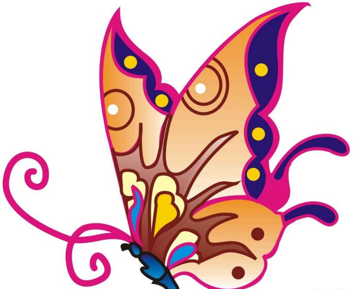 简笔画最漂亮的蝴蝶怎么画